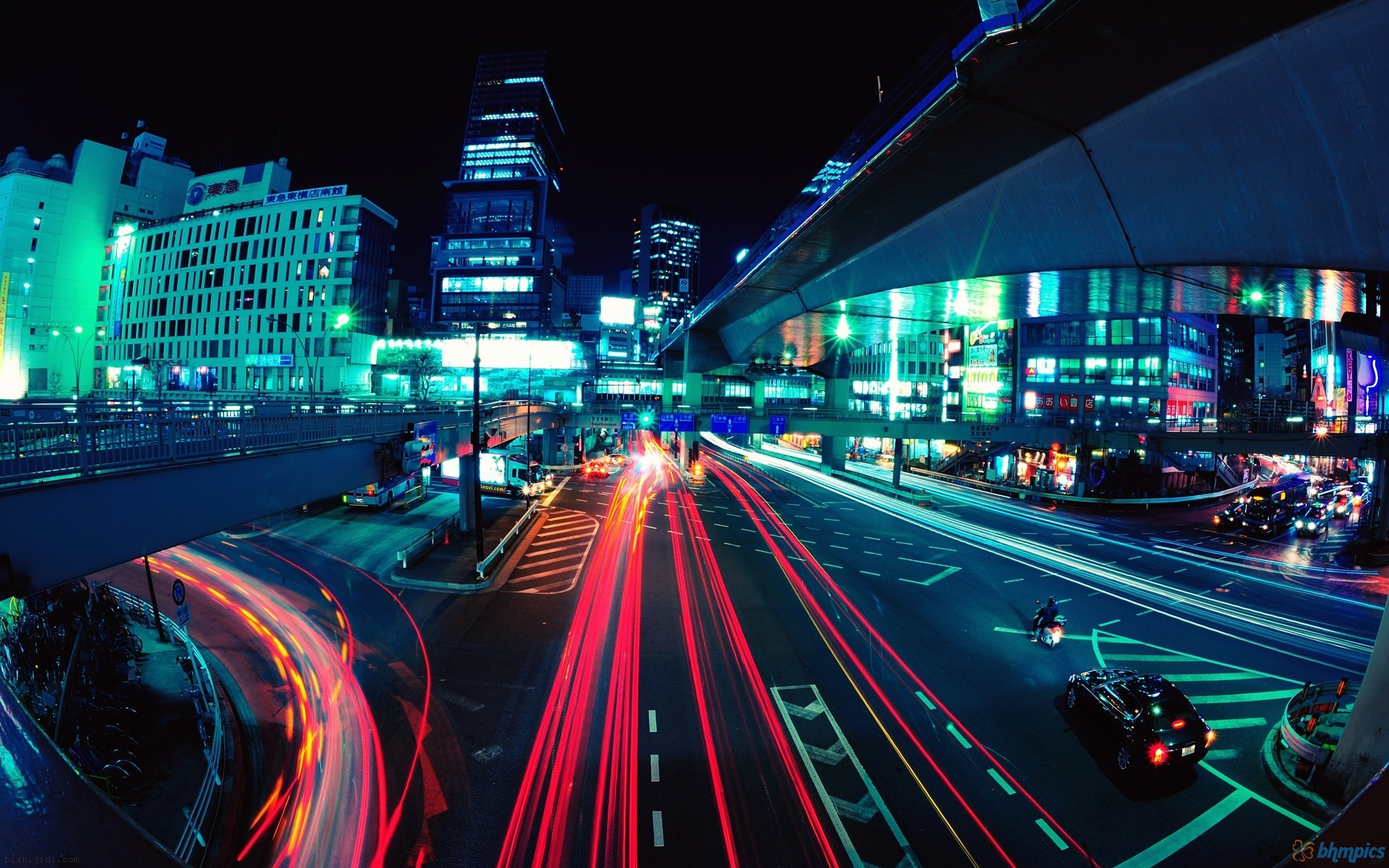 Tokyo Panorama A 10000 Image Picture of Tokyo by Jeffrey Martin 1920x1200