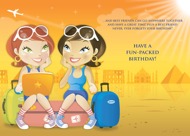 Free download Funny happy birthday greeting wallpapers