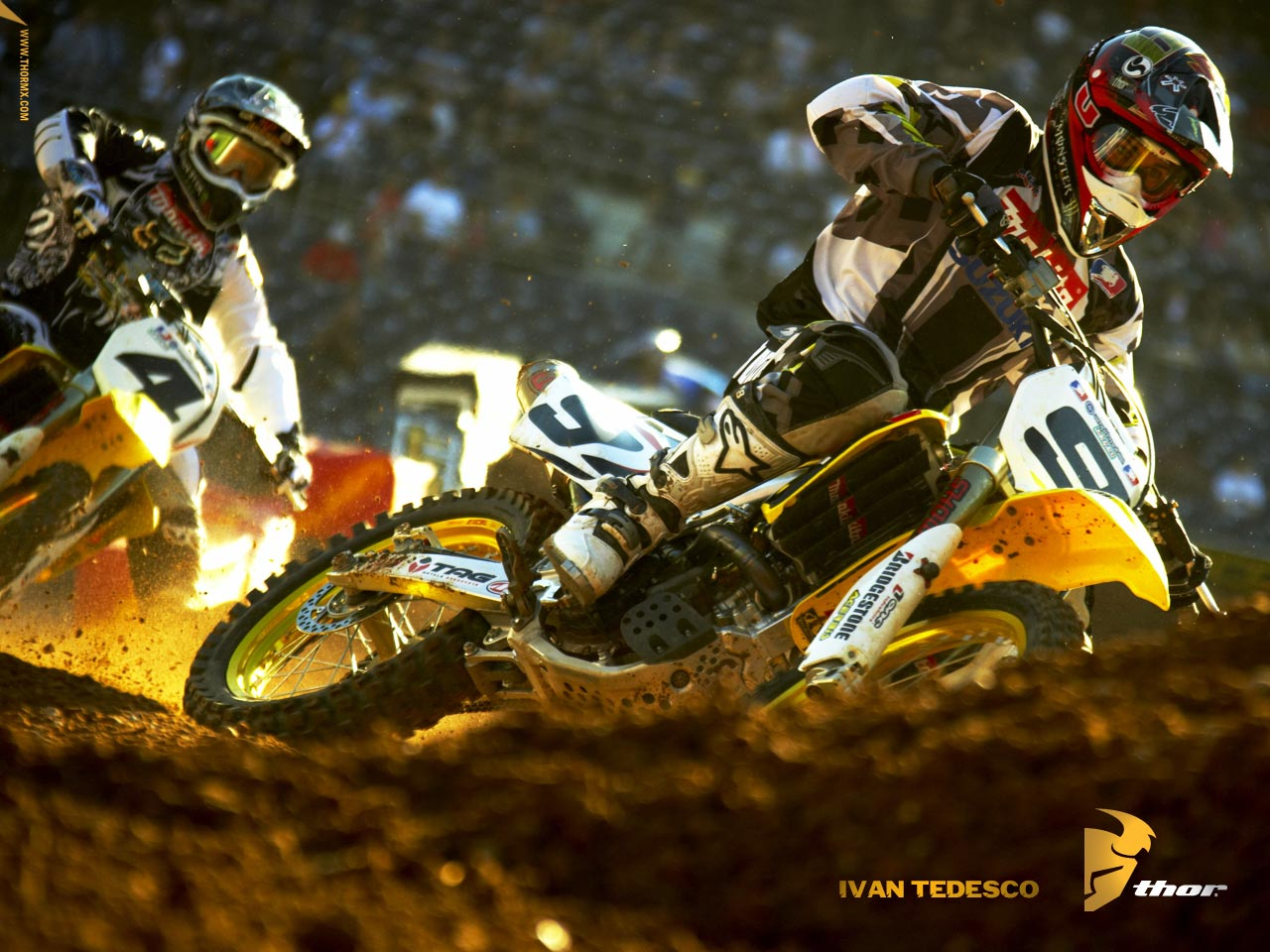 43 Fox Wallpapers Motocross On Wallpapersafari