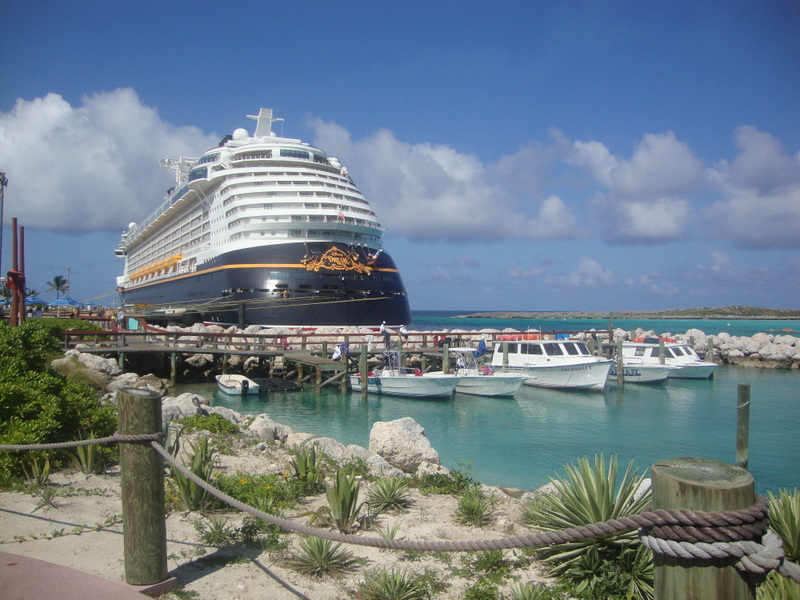 New Disney Cruise Ship the Disney Dream Arrives at Port Canaveral 800x600