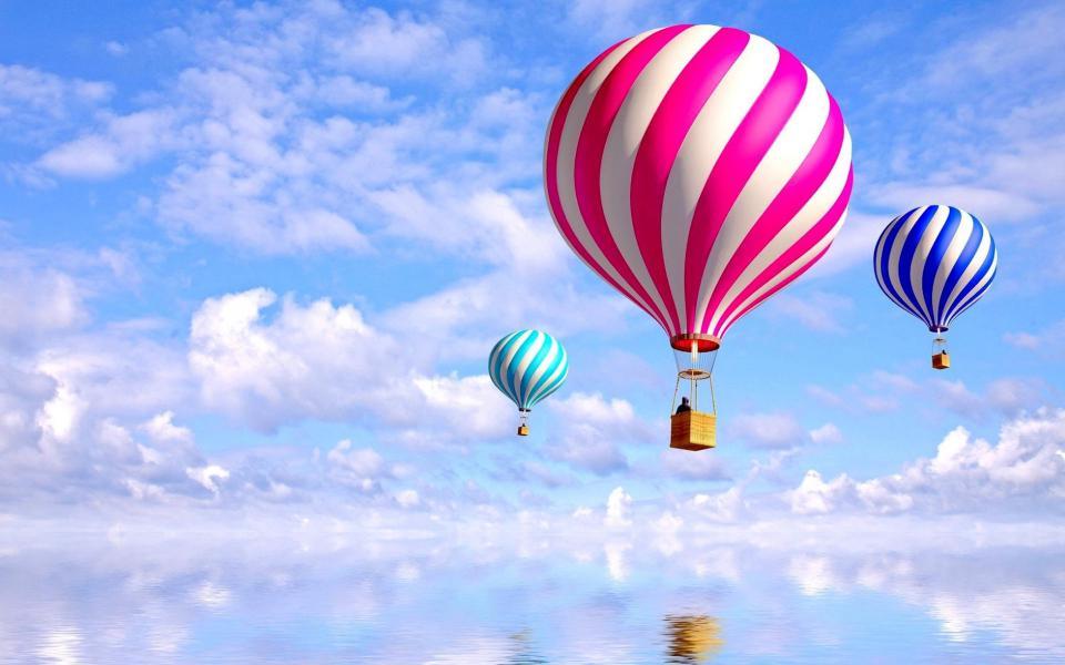 35 Air Balloons Desktop Wallpapers 960x600