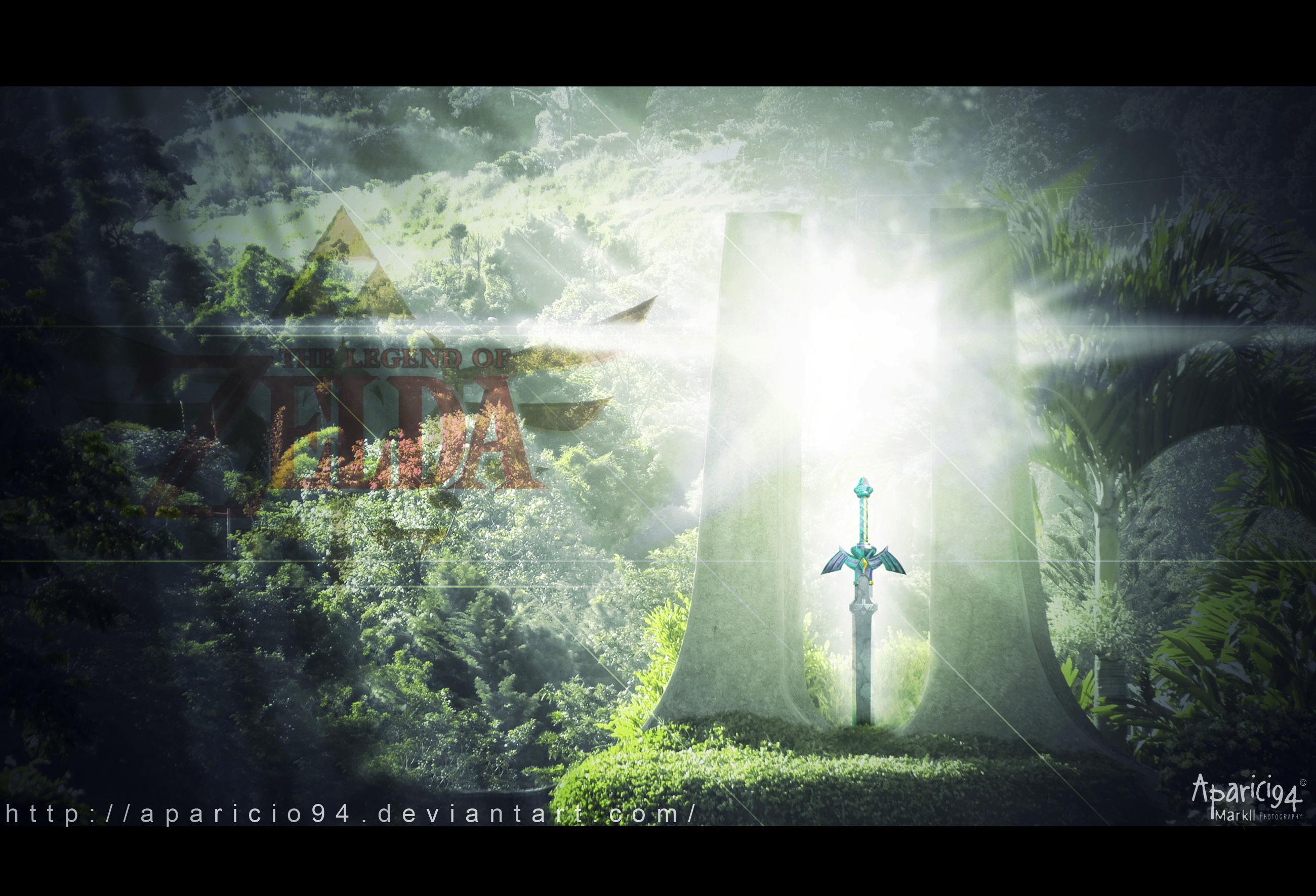 Zelda Master Sword Wallpaper 2600x1771