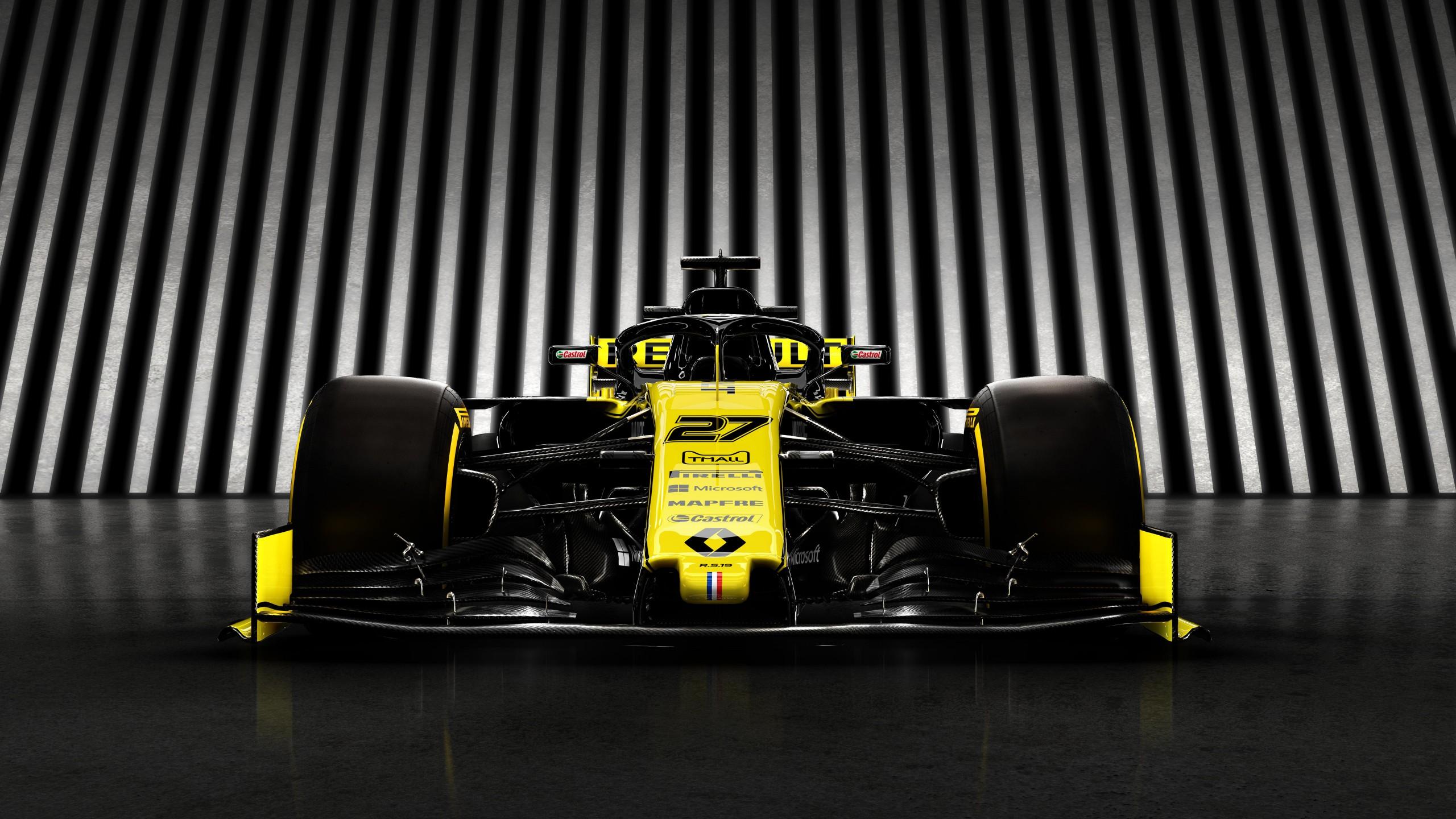 Renault RS19 Formula 1 2019 4K 8K 4 Wallpaper HD Car Wallpapers 2560x1440