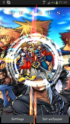 Free Download Android Themes Wallpapers Kingdom Hearts Live
