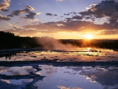 Hd Wallpapers Yellowstone National Park Rivers 1920 X 1200 1642 Kb 500x375