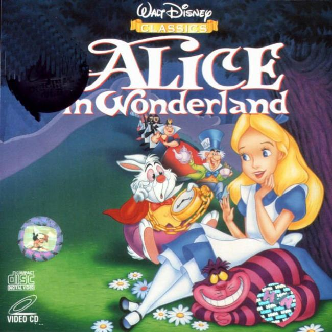 Alice in Wonderland Cartoon Wallpaper - WallpaperSafari