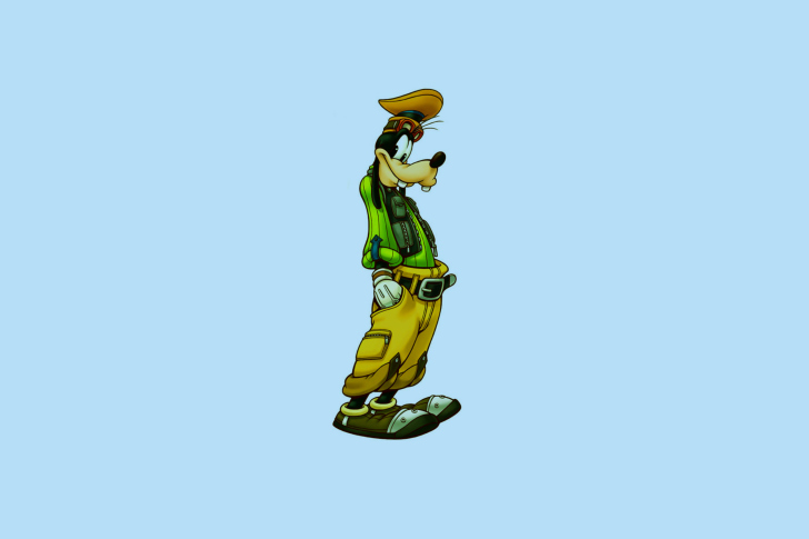 Goof   Walt Disney Cartoon Character Wallpaper for Android iPhone and 728x485