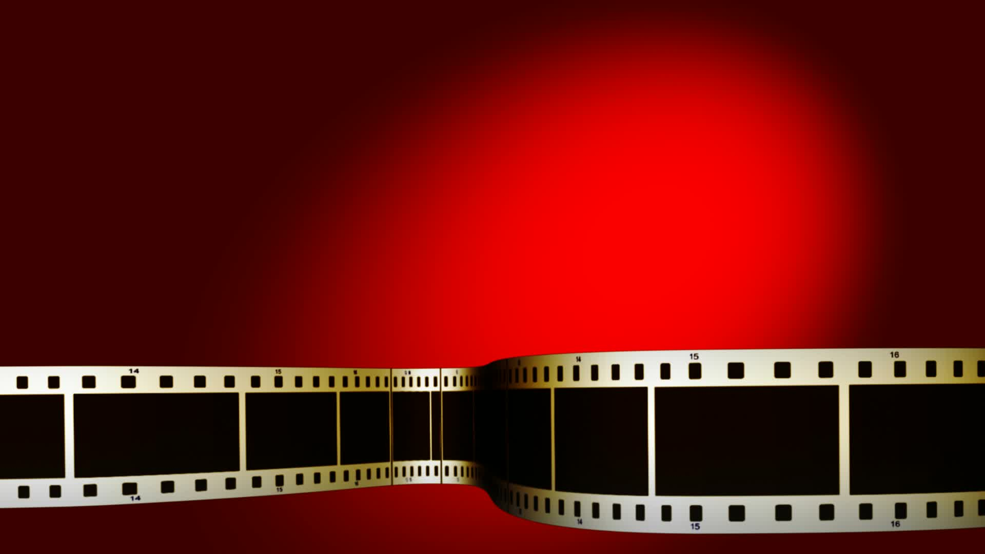Filmstrip Lower Thirds Red Background Stock Video 20614809 HD Stock 1920x1080