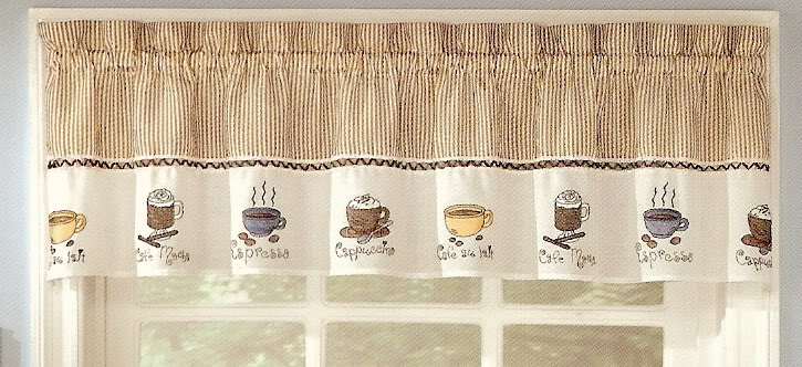 Free Download Coffee Curtains Valance Cappuccino Kitchen Coffee Decor 725x332 For Your Desktop Mobile Tablet Explore 50 Coffee Themed Wallpaper Borders Wallpaper Wine Theme Coffee Cup Wallpaper Borders Vintage Coffee Wallpaper