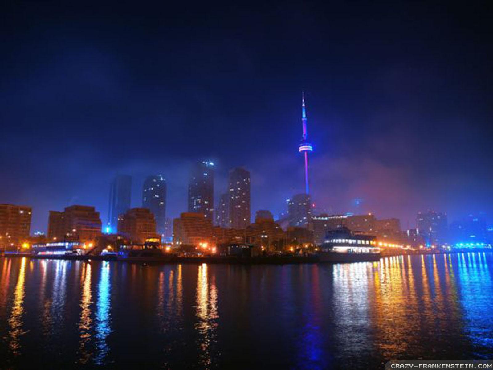 Torontonightskylinewallpaper 1600x1200