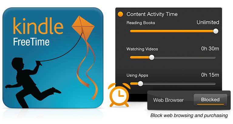 Kindle FreeTime cuenta con nuevas caractersticas que pueden hacer 768x409