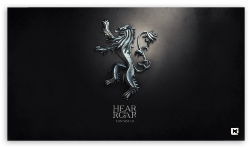 Game of Thrones Hear me Roar Lannister HD wallpaper for HD 169 High 510x300