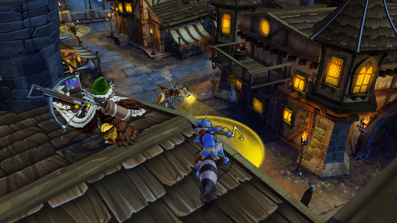 Sly Cooper Thieves in Time video game wallpapers Wallpaper 133 of 1280x720