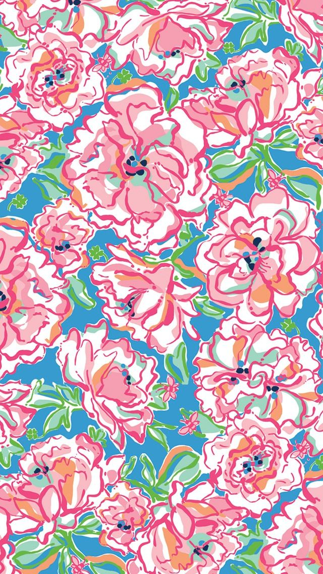 Lilly Pulitzer iPhone wallpaper iPhone Pinterest 640x1136