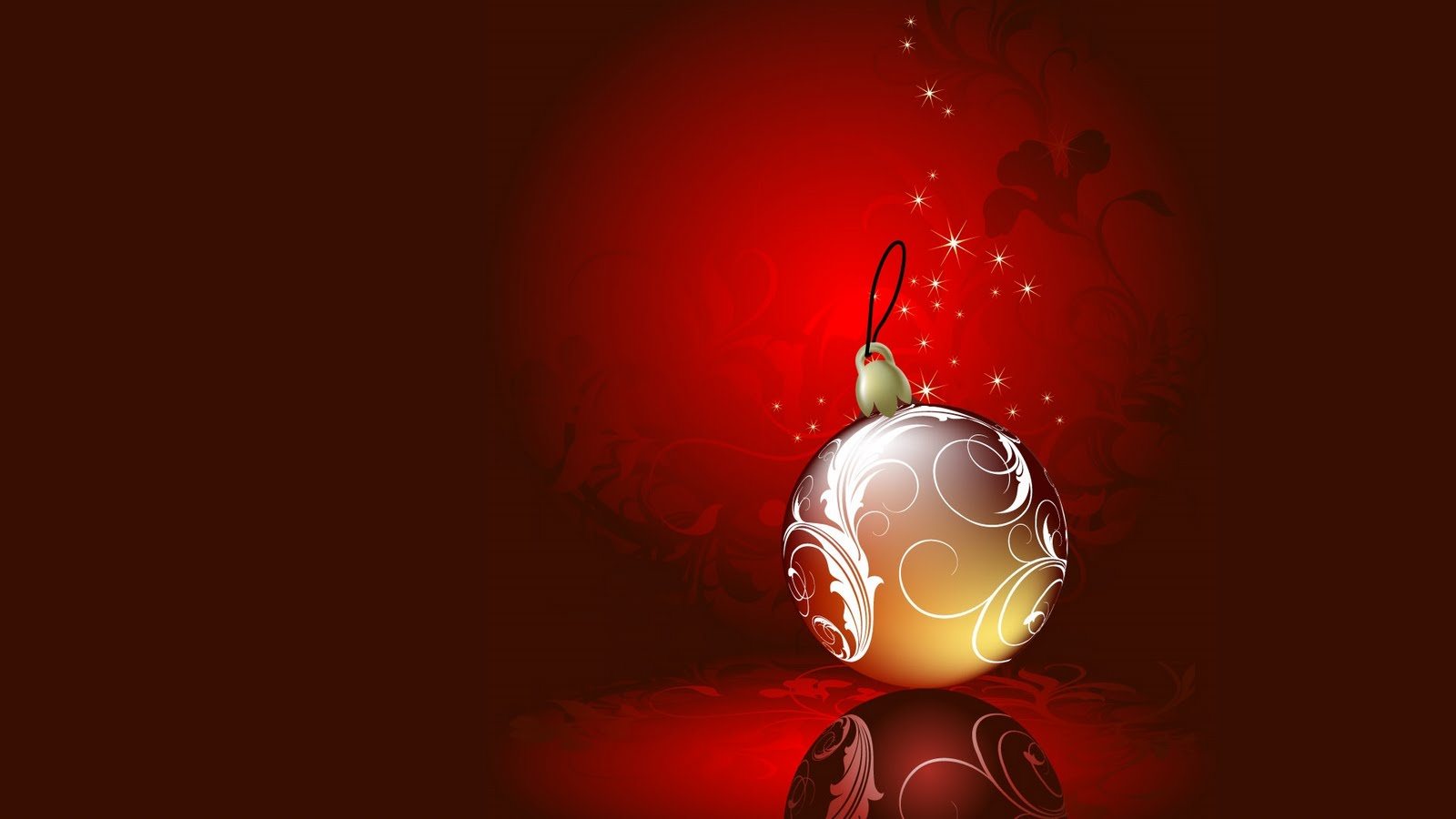 Christmas Ball Ornaments Hd Desktop Wallpaper 1600x900