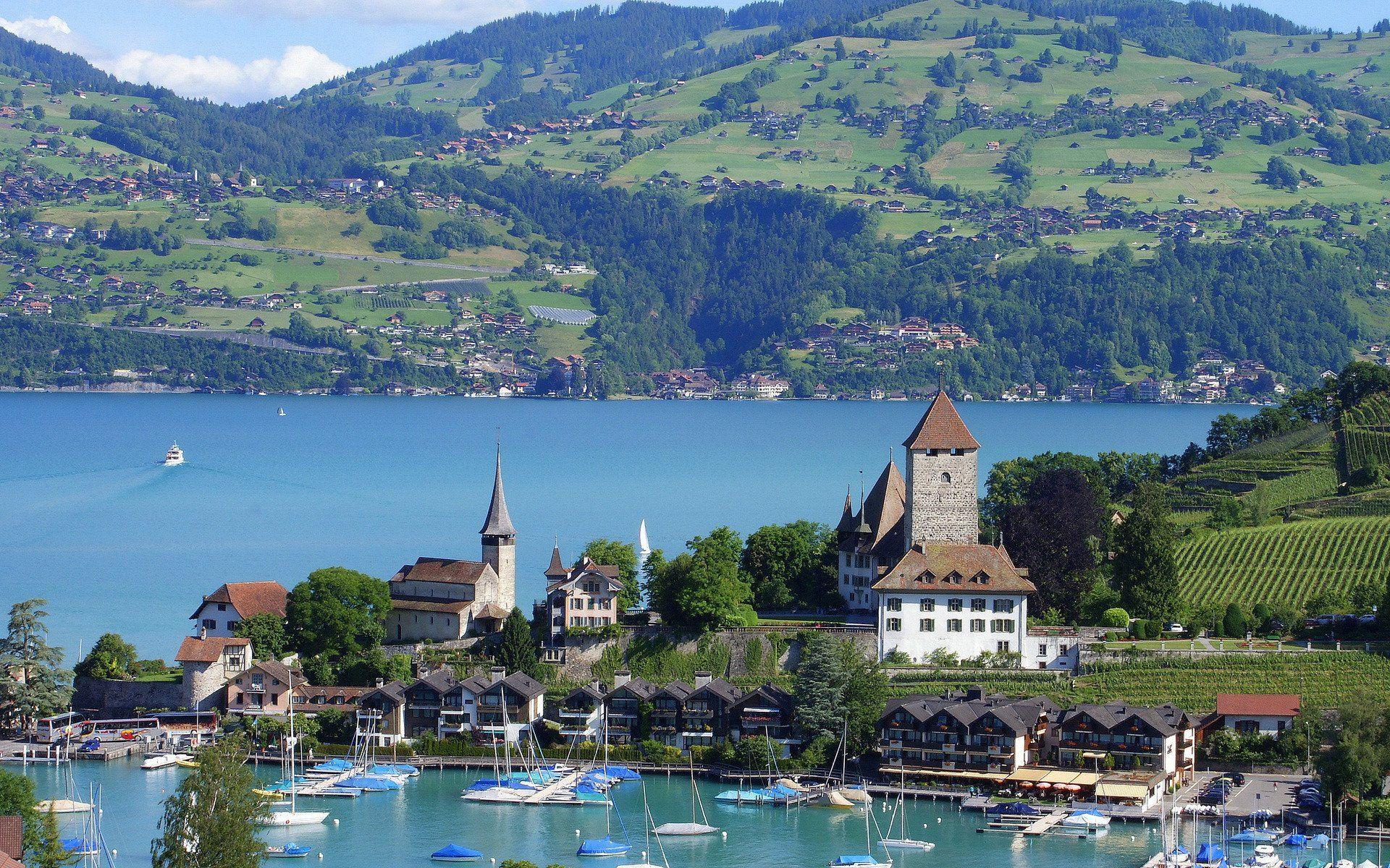 Interlaken in Switzerland [1920x1200] Beautiful Wallpaper 1920x1200