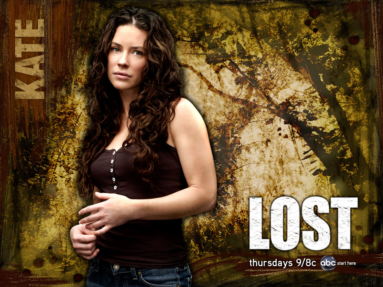 lost poster kate evangeline lilly hd desktop wallpaper background 1280x960