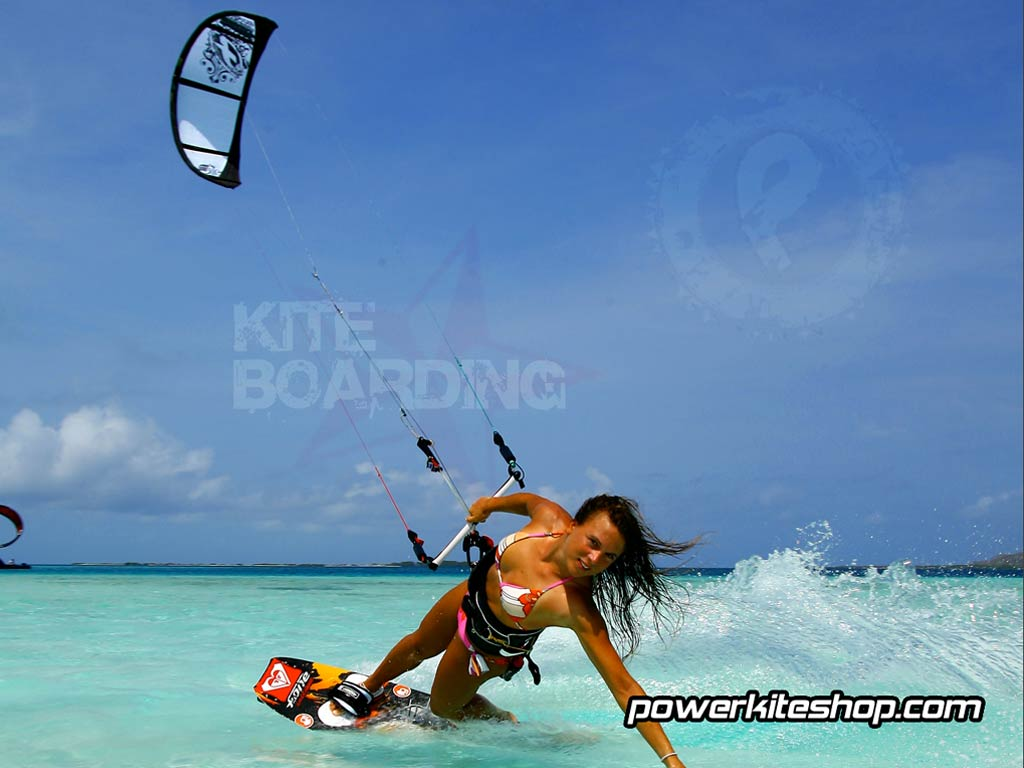 Pics Photos   Kiteboarding Wallpaper 1024x768