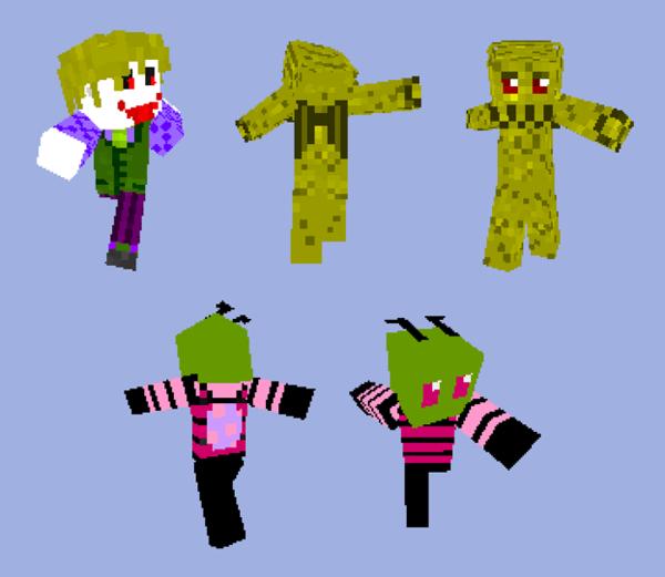 26+] Minecraft Wallpapers Custom Skins on WallpaperSafari