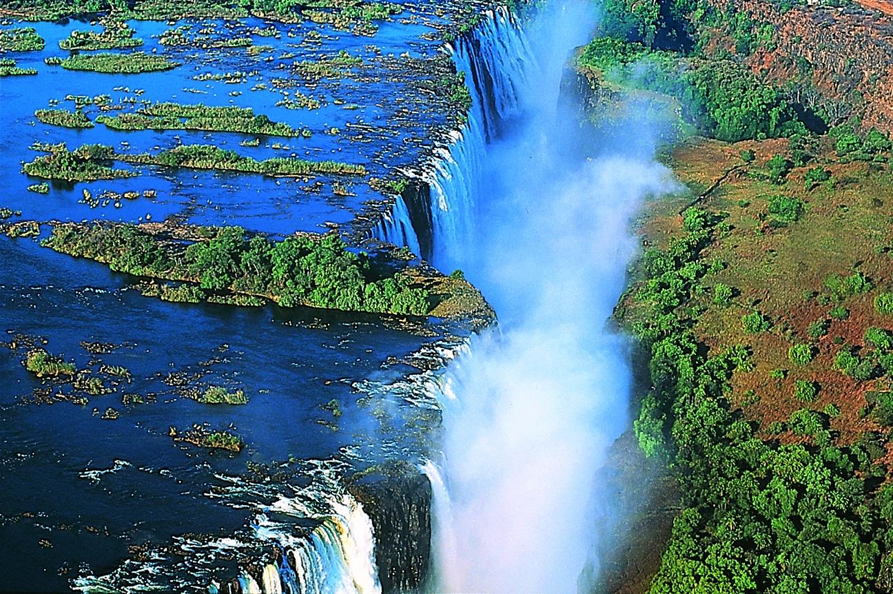 Victoria Falls 5 HD Wallpaper Landmarks Wallpapers 1296x862