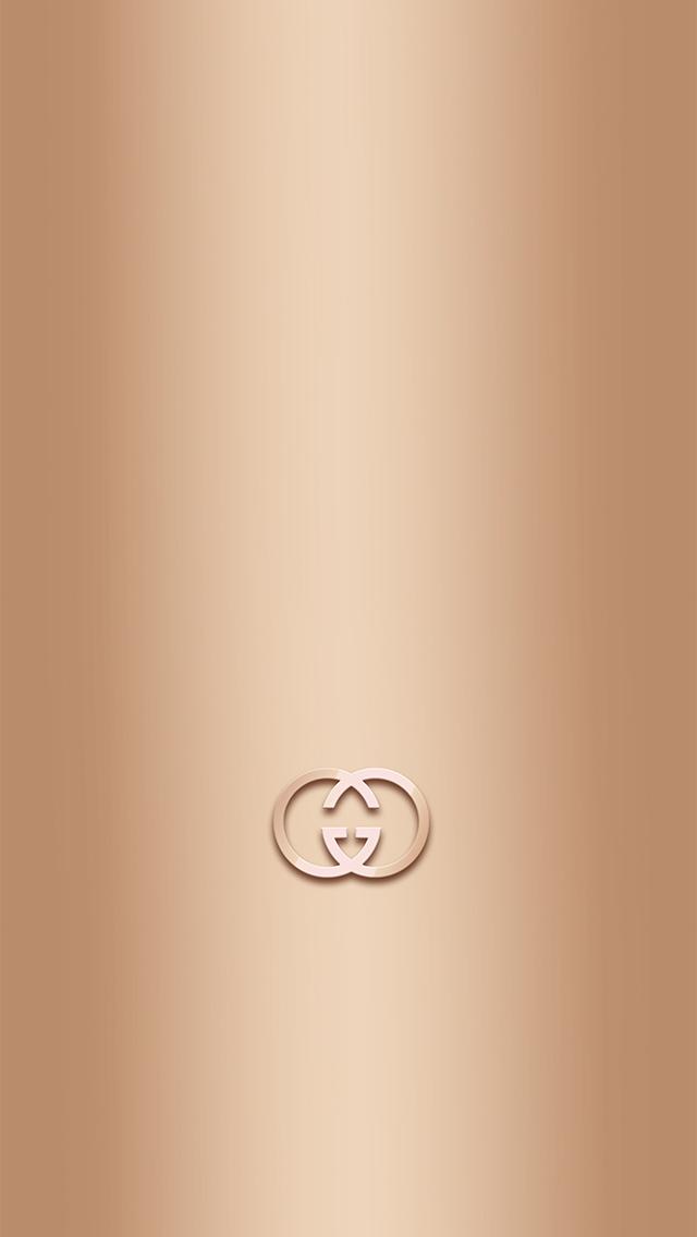 Golden Gucci iPhone wallpaper 640x1136