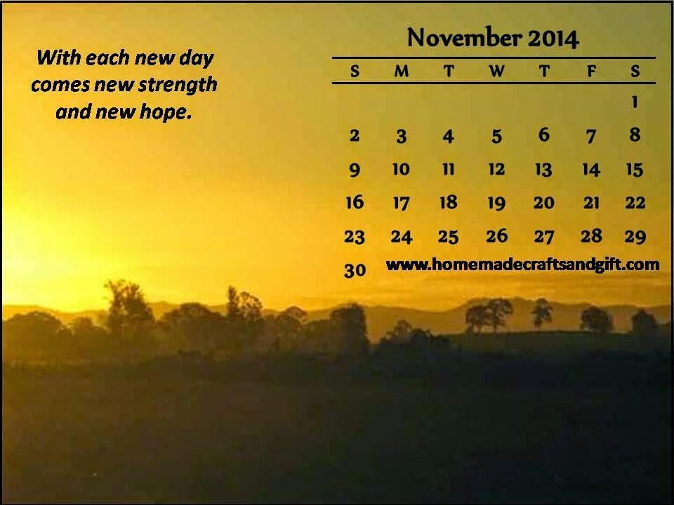 Free 2015 Calendars, Bookmarks, Cards: November 2014 wallpaper ...