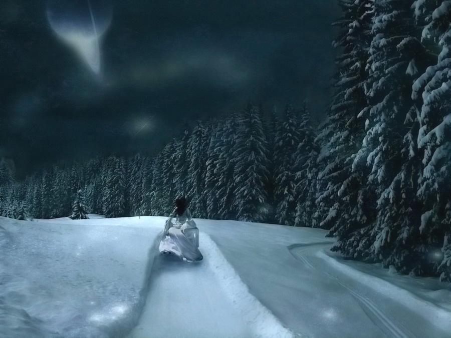 Early Winter by owel 900x675