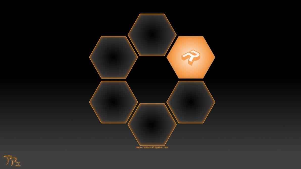 Robocraft Wallpaper Hex by BRindustries 1192x670