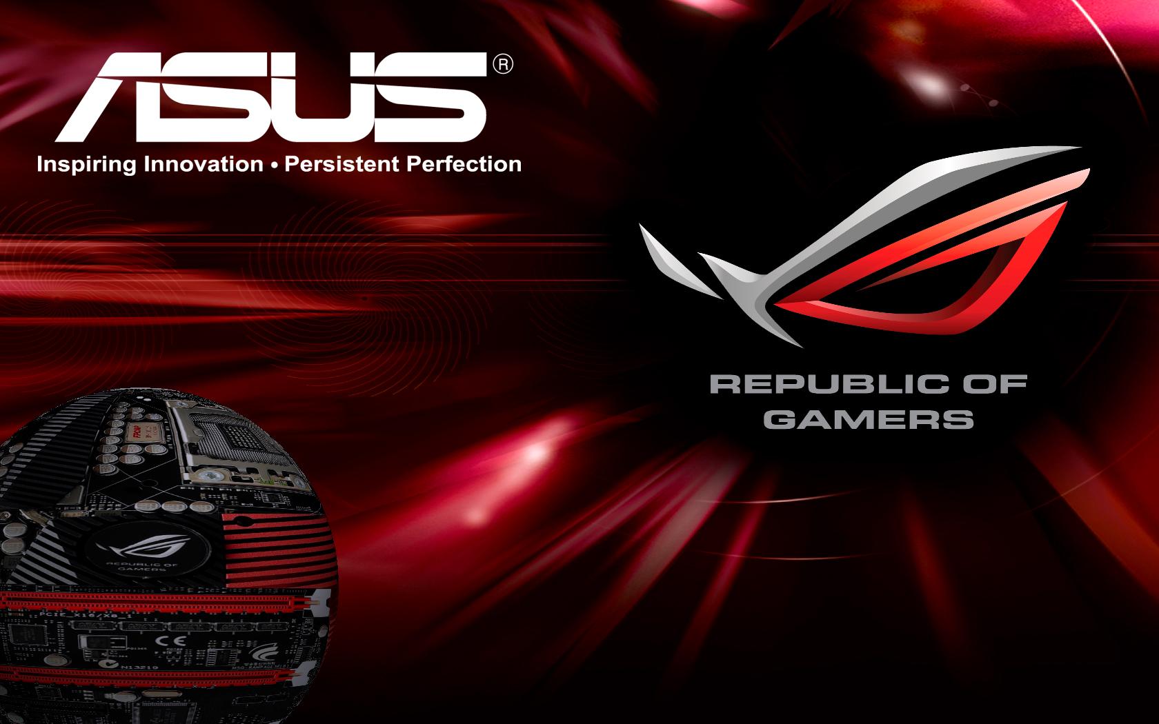 Asus republic of gamer wallpaper   ForWallpapercom 1680x1050