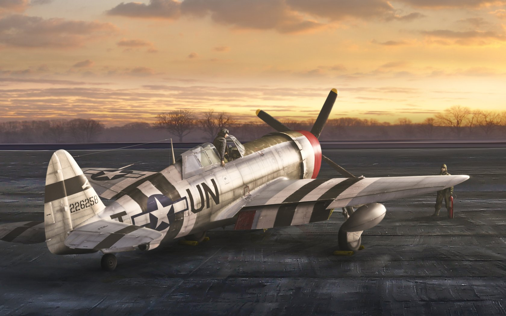 P 47 Thunderbolt Wallpaper and Background Image 1680x1050 ID 1680x1050
