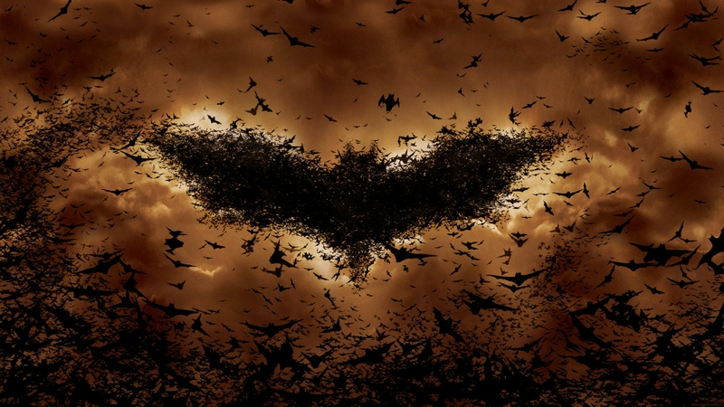 orange batman begins bats Batman Wallpaper Desktop Wallpaper 800x450
