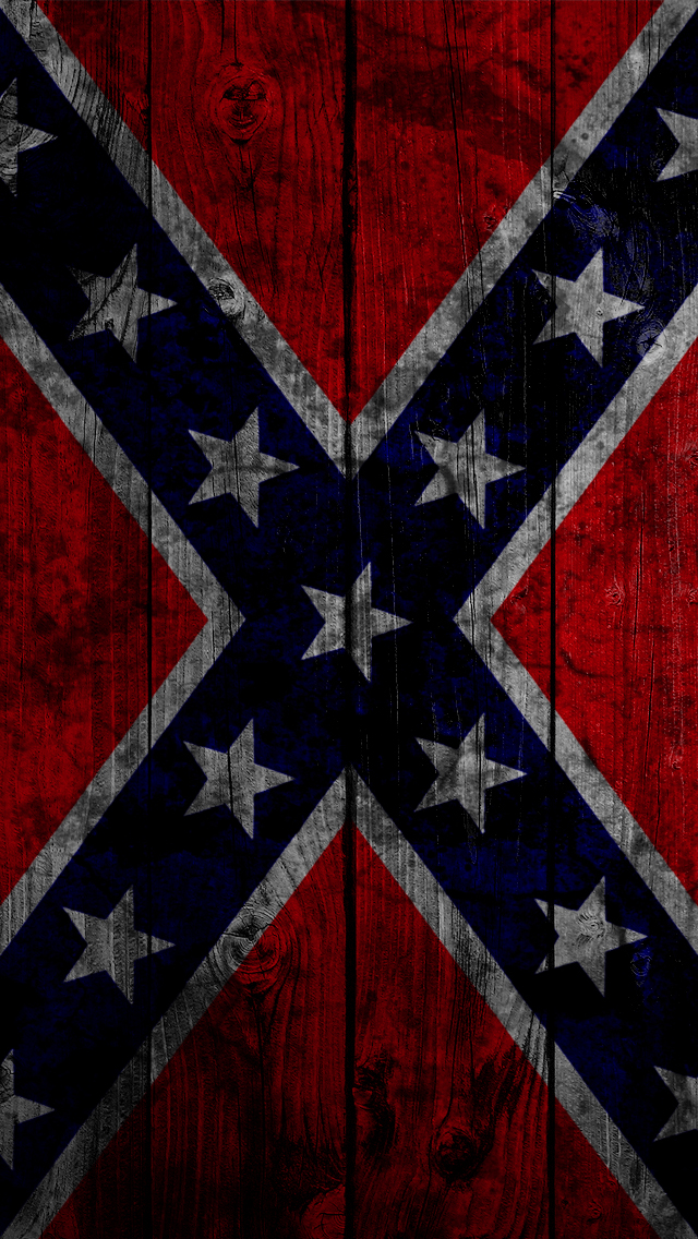 Confederate Flag 640x1136