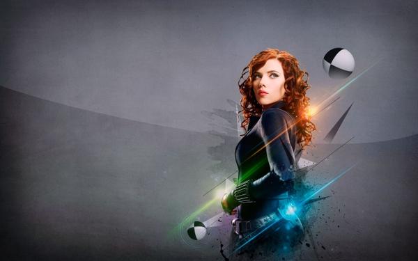 Scarlett Johansson Black Widow Wallpaper