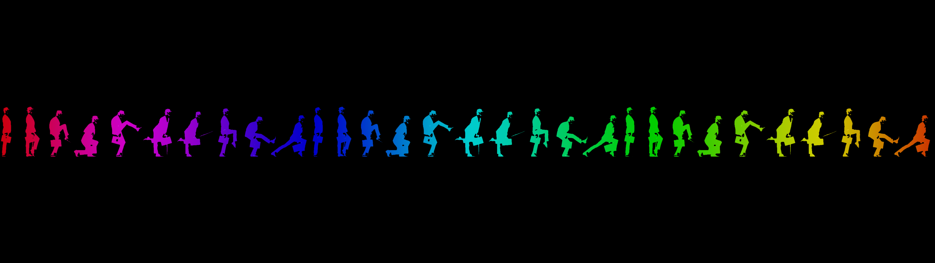 Ministry of Silly Walks Dual screen by TomThaiTom 3840x1080