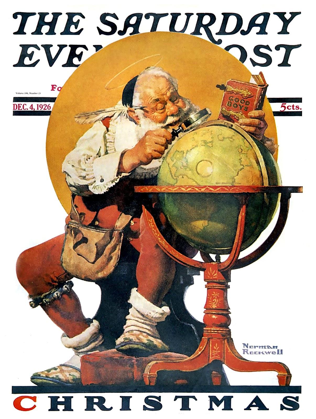 Norman Rockwell Christmas Wallpaper Free Wallpapersafari