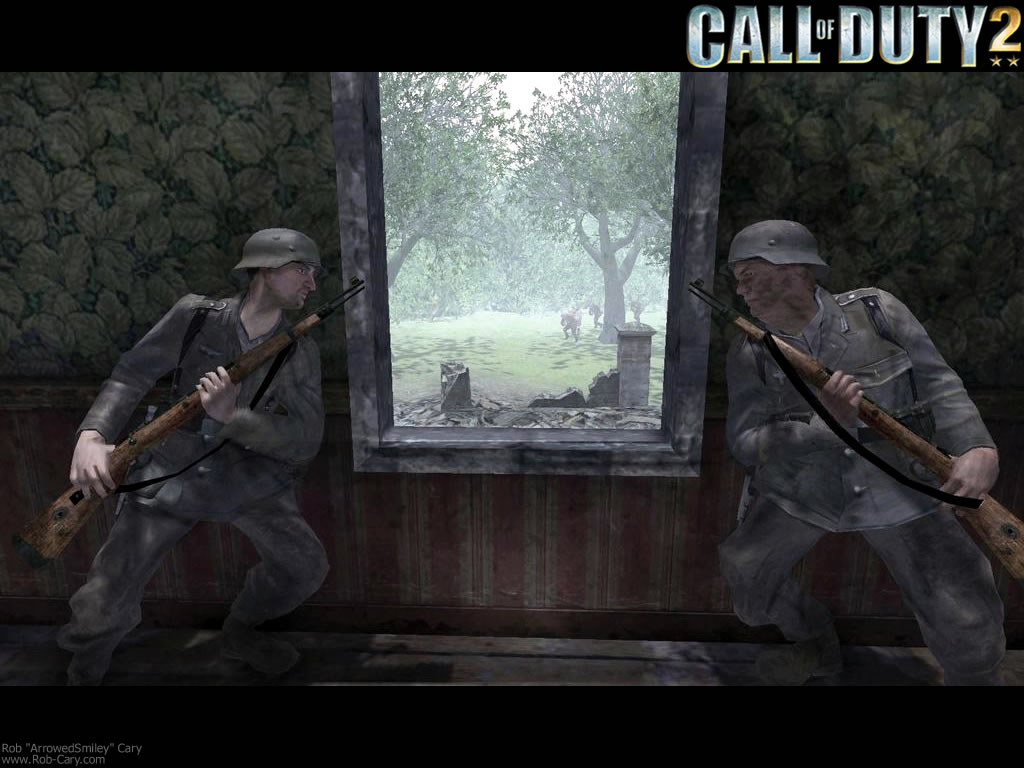 Free Download Ambush Call Of Duty 2 1024x768 For Your Desktop