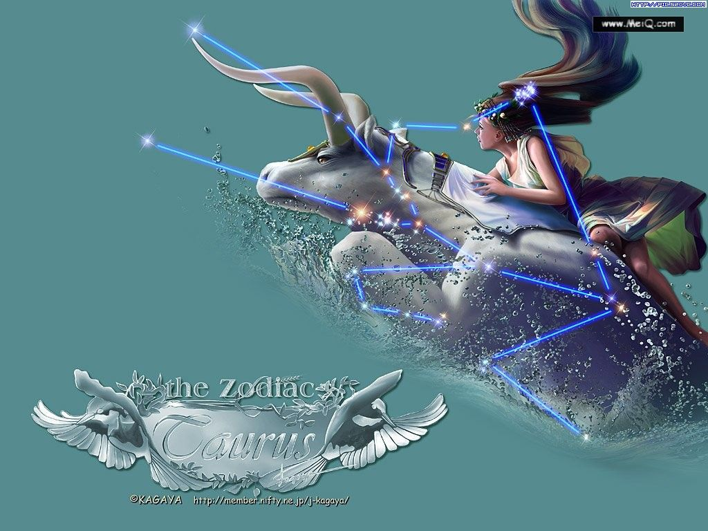 Taurus Astrology Wallpaper Zodiac Signs 1024x768