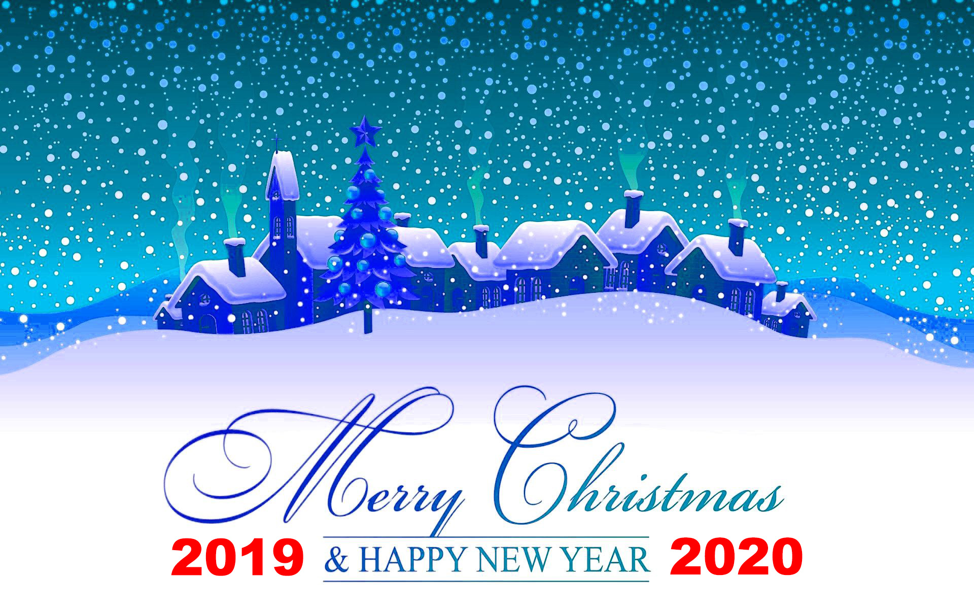 Merry Christmas 2019 Wallpapers HD download 1920x1200