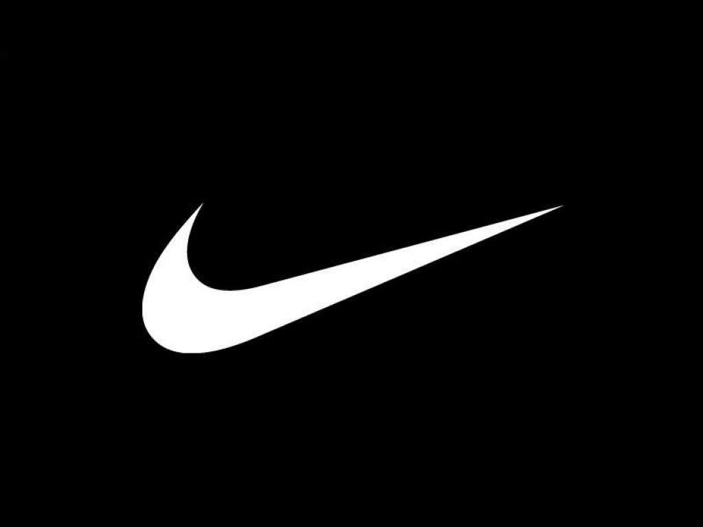 Nike wallpaper nike black white background mages Black 1024x768