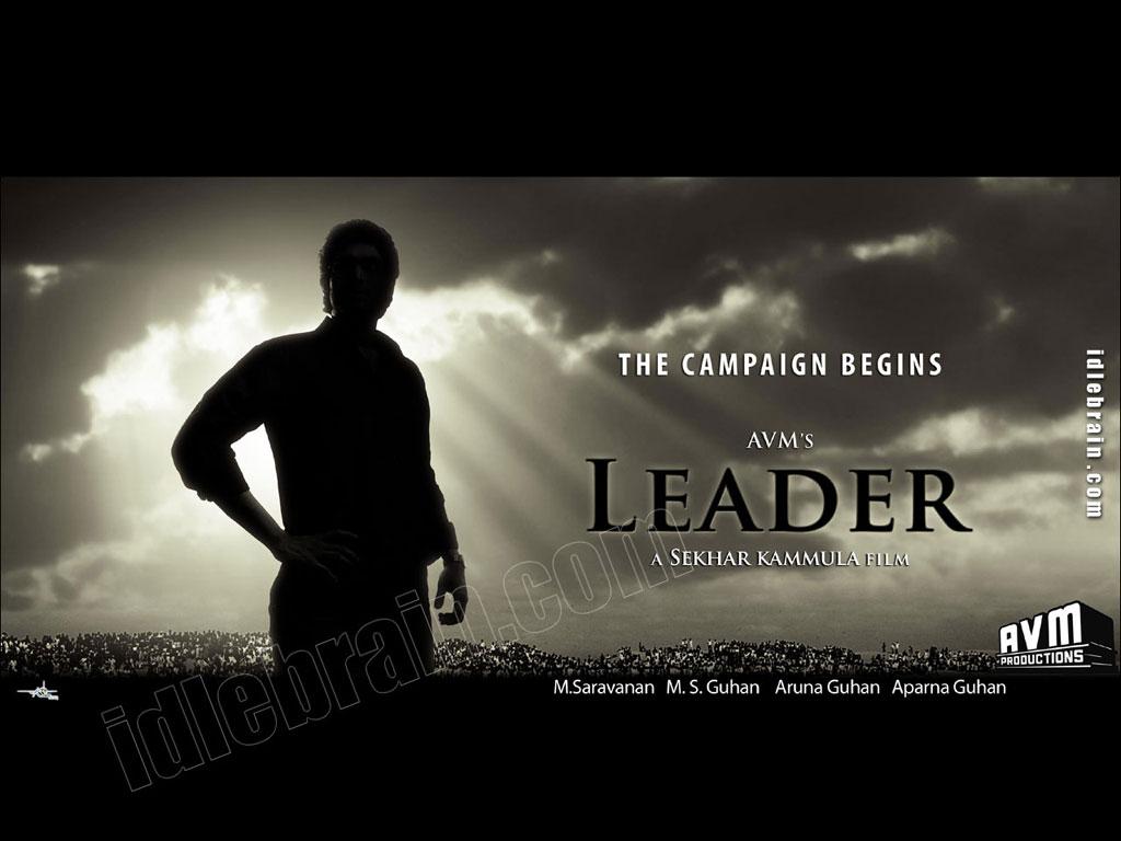 Leader   Telugu film wallpapers   Telugu cinema   Rana 1024x768