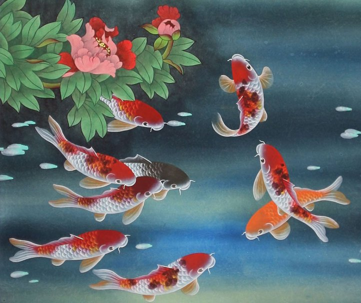 Animated koi wallpaper wallpapersafari for Moving fish wallpaper