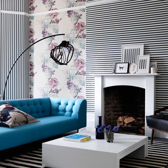 roomenvy   Living room wallpaper design 550x550