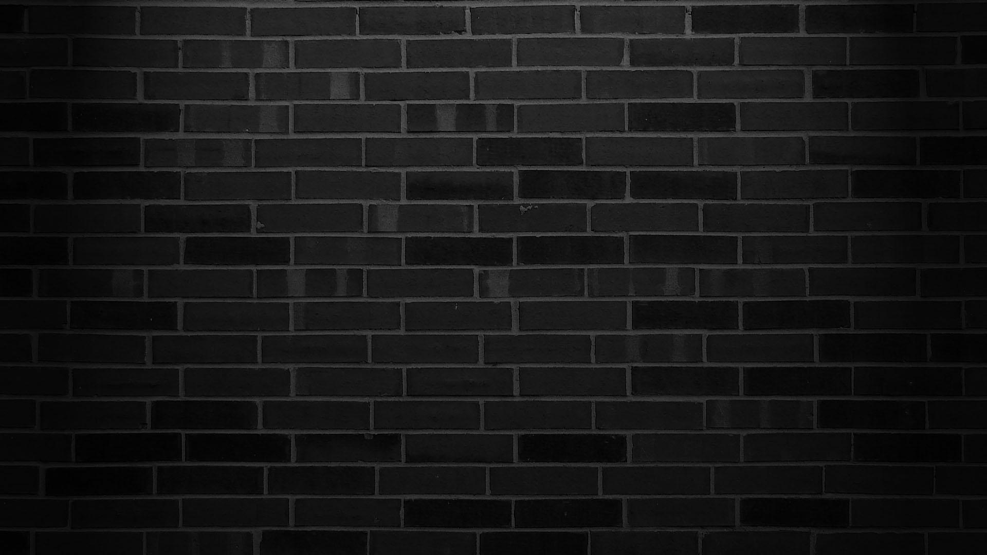 48 Black Brick Wallpaper On Wallpapersafari