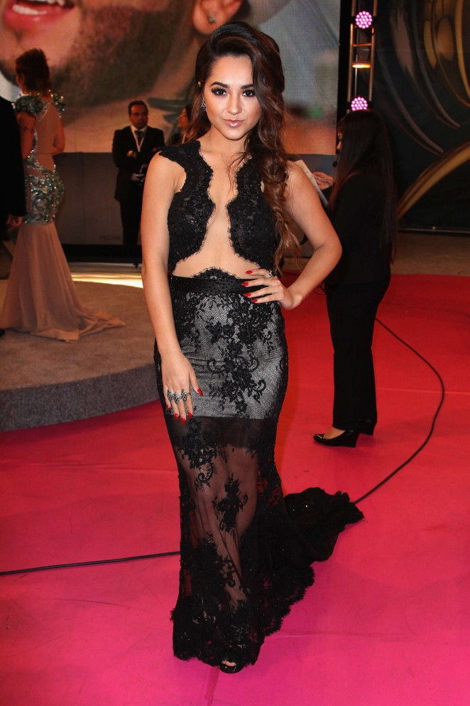 Hot Babes Becky G 2015 Premios Lo Nuestros Awards in Miami Find 662x993