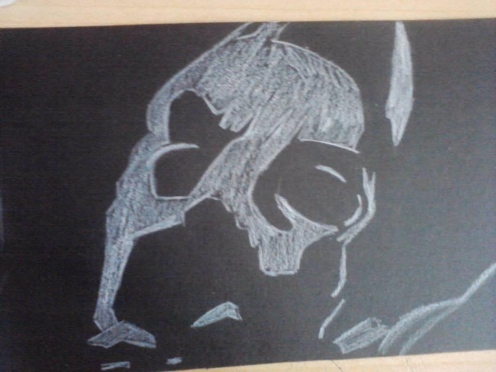 Batmans broken mask by XSoul ArtistX 1024x768