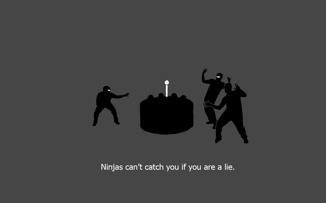 1280 x 800 Wallpapers Wallpaper 16919 funny ninjas 1280x800