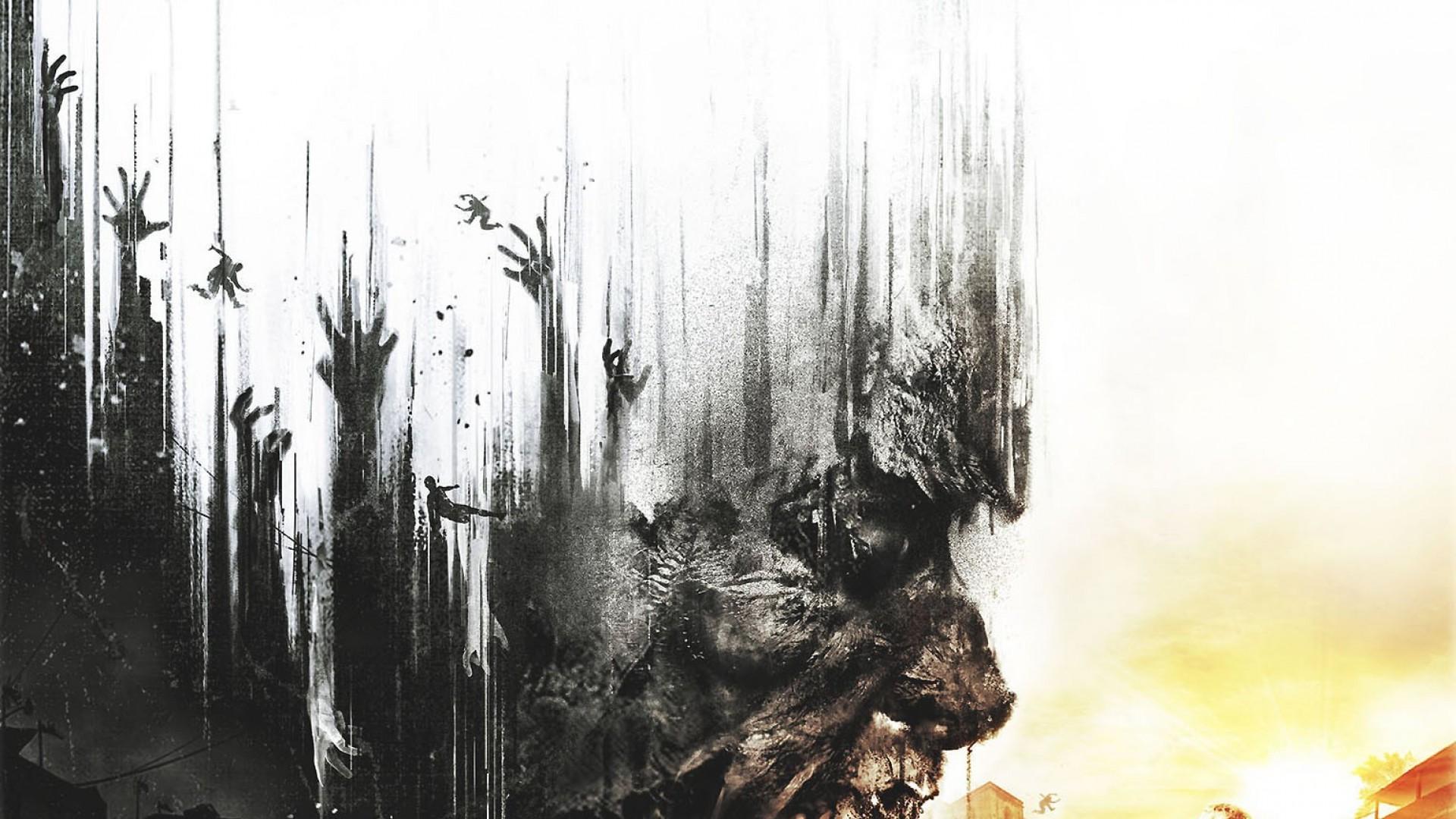 Dying Light dark zombie f wallpaper 1920x1080 166917 WallpaperUP 1920x1080