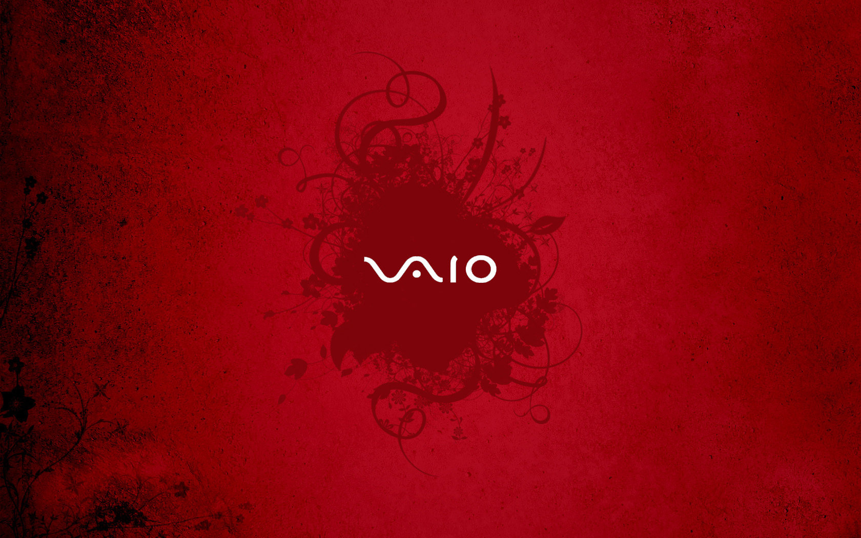 Sony Vaio Logo Red Wallpaper Hd 1680x1050 iWallHD Wallpaper HD 1680x1050
