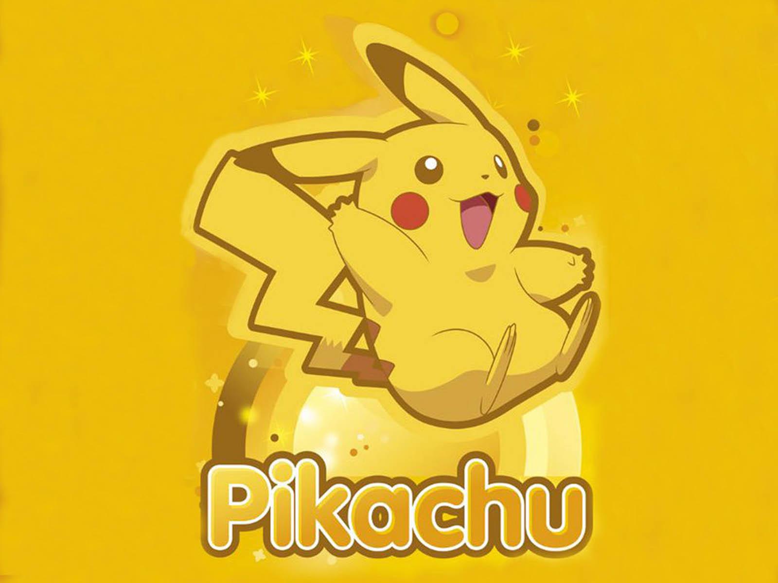 Pikachu Pokemon picture for wallpaper 1600x1200