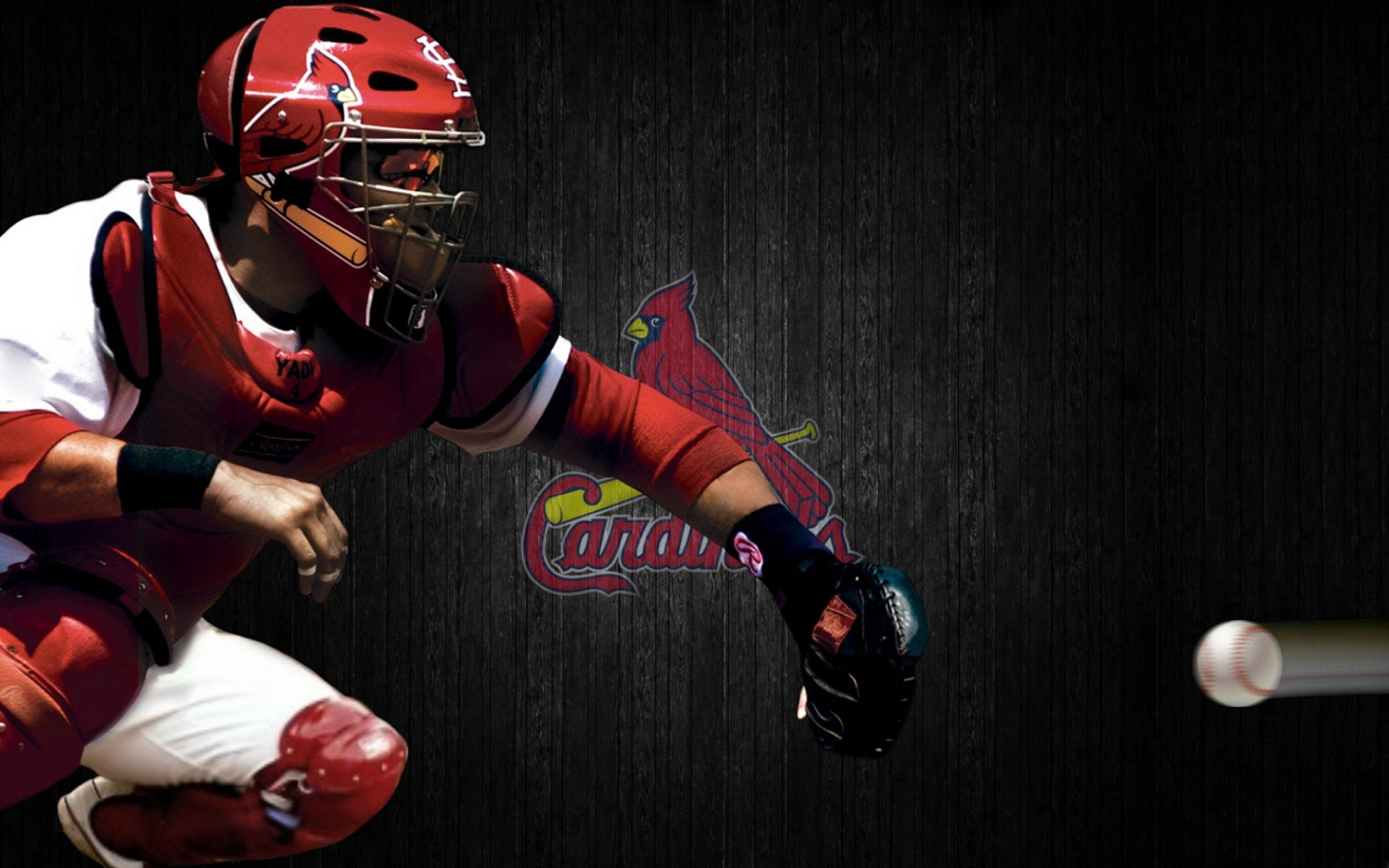Cardinals Baseball Team HD Wallpaper Background Images 2400x1500